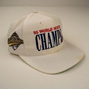 Vintage 1995 Atlanta Braves World Series Snapback